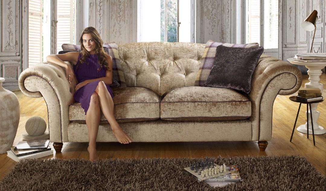 Regent Fabric Sofa Range Sofology