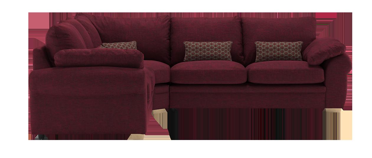 Mango fabric sofa range sofology - Bordeaux mixture ...